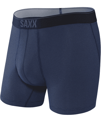 SAXX Midnight Blue Quest Boxer Brief Fly