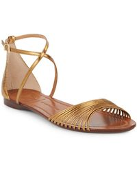 Vince Camuto Bronze Maybree Flat