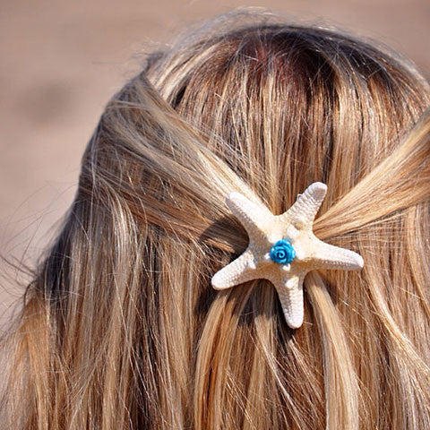 Starfish Rose Hair-clip