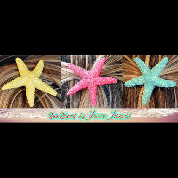 Mermaid Starfish Hair Clips