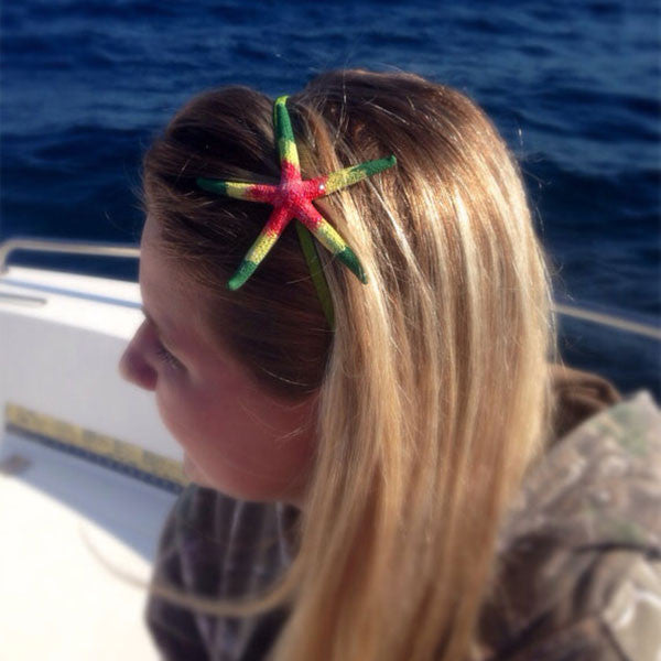 Mermaid Starfish Headband Rasta