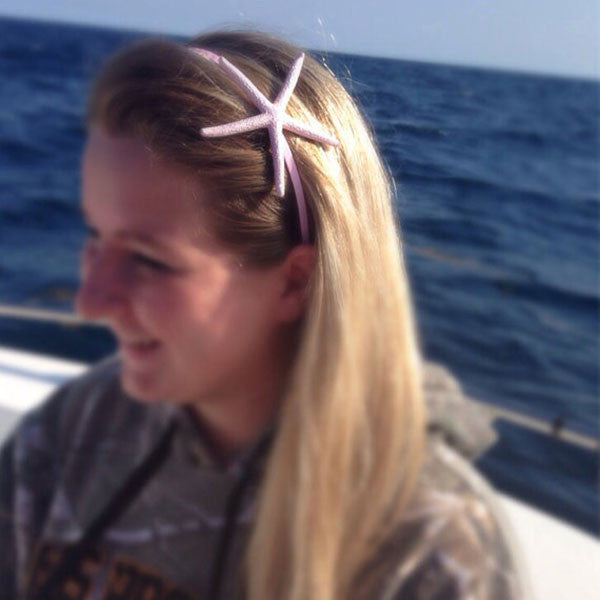 Mermaid Starfish Headband (light pink)
