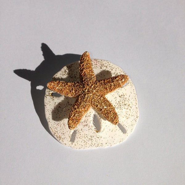 Starfish & Shell Hair-clip