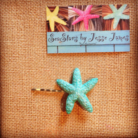 Starfish Bobby Pins (AnyColor)