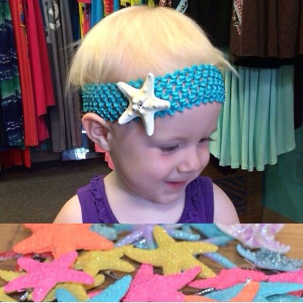 Starfish Baby Headbands
