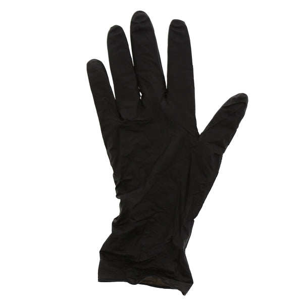 Exam Grade Powder-Free Nitrile Black Widow Gloves Sample, for Customer Service Use Only