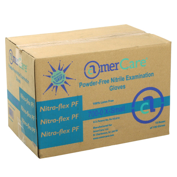 Exam Grade Powder-Free Nitrile Nitra Flex Gloves Sample, for Customer Service Use Only