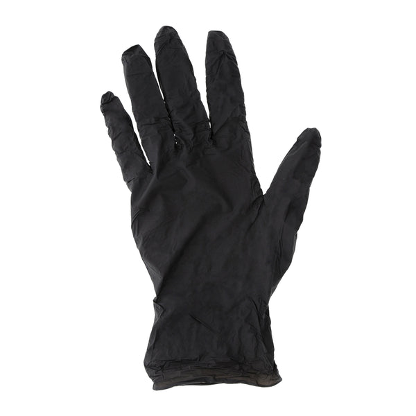 Powder-Free Black Nitrile Edge Gloves Sample, for Customer Service Use Only