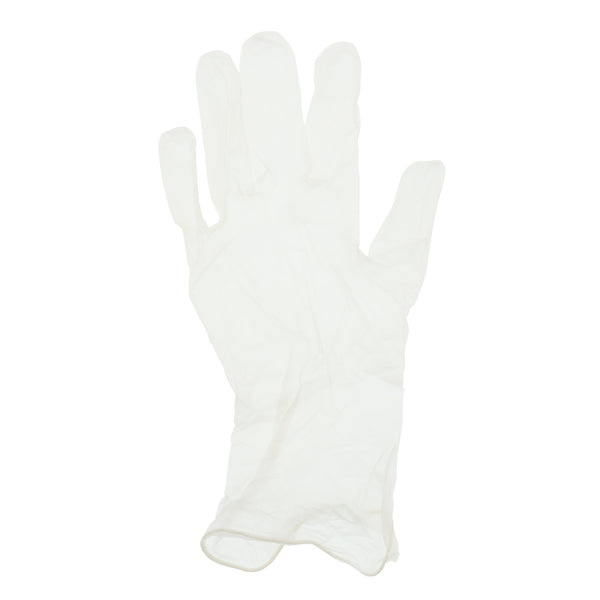 Paradigm Vinyl Gloves, Powder-Free, Small on hand.