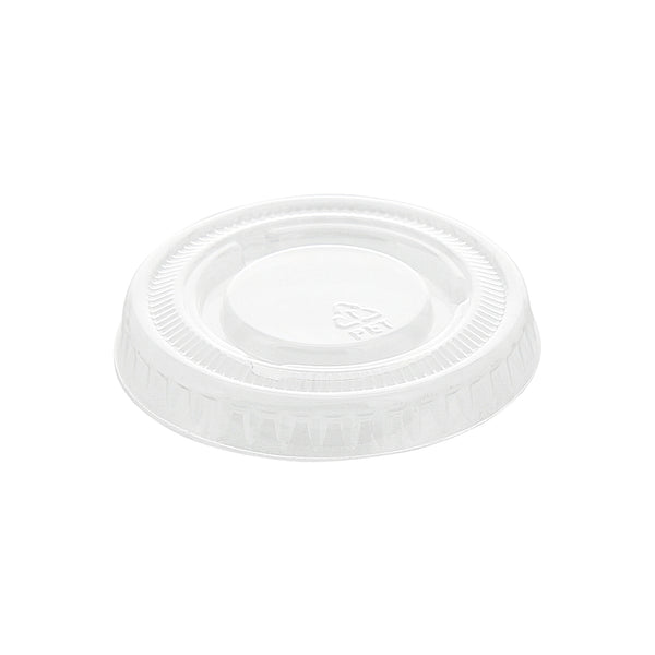 1 Oz. PET Clear Portion Cup Lid