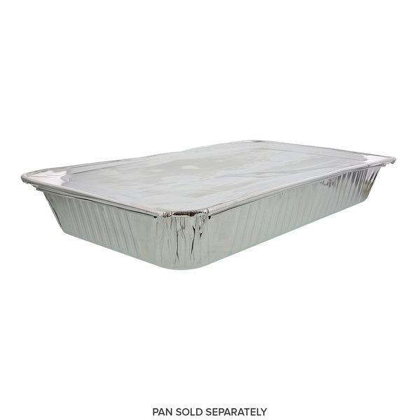 Foil Lid With Full Size Steam Foil Pan