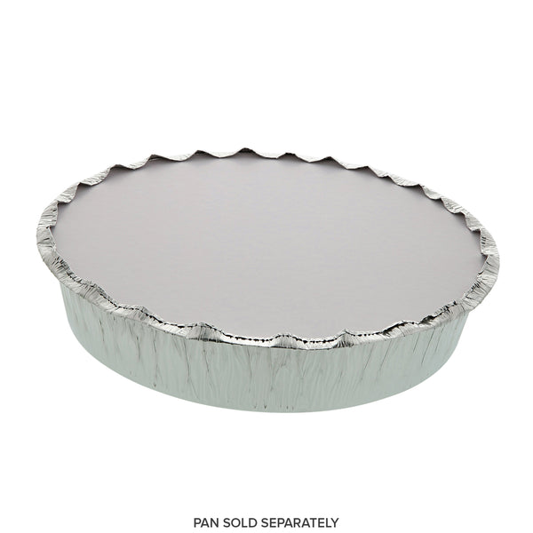 "Foil Board Lid With 9"" Round Foil Pan"