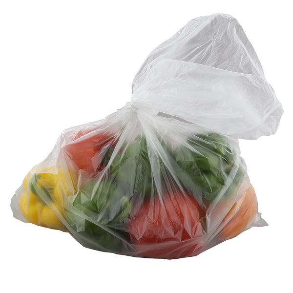 "18"" x 24"" High Density Food Storage Bag with Peppers"
