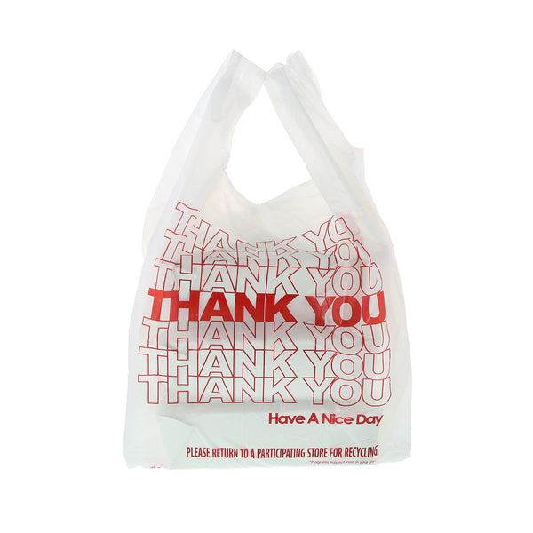 "1/6 Thank You Bags, 11.5"" x 6.5"" x 21"""