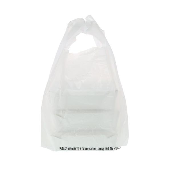 "RPPWB6 - 11.5"" x 6.5"" x 22"" 1/6 Plain White Bags Sample, for Customer Service Use Only"