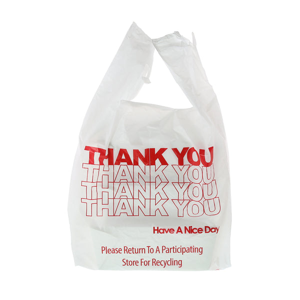 "RPTYB6HW - 11.5"" x 6.5"" x 22"" Heavy Weight 1/6 Thank You Bags Sample, for Customer Service Use Only"