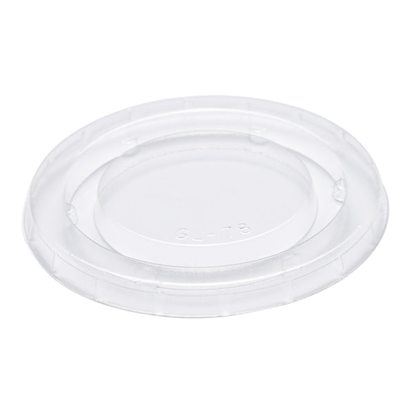 CPCL-2 - 2 oz. PLA Clear Portion Cup Lids Sample, for Customer Service Use Only