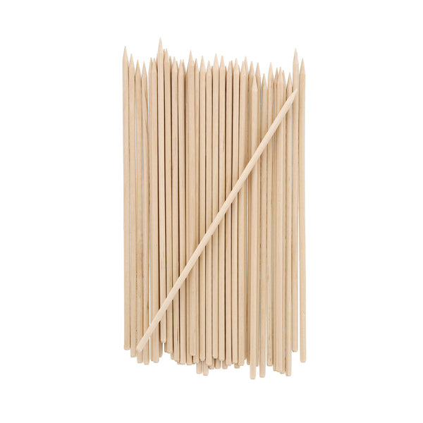 "5.9"" Wooden Skewers with Chamfer Edge"