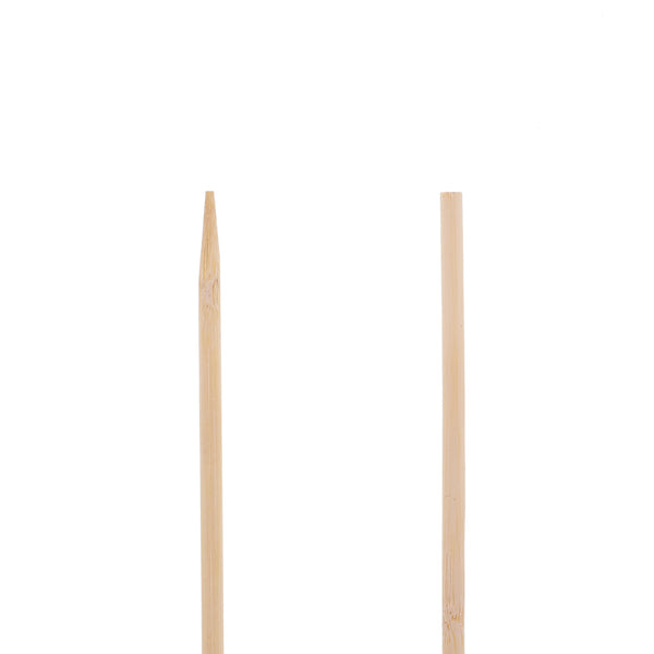"36"" Round Bamboo Skewers Detail"