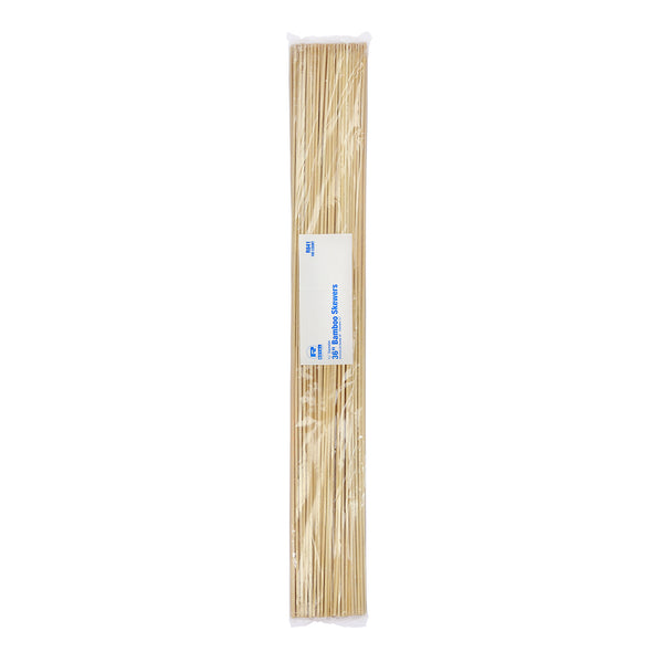 "36"" Round Bamboo Skewers, Pack of 100"
