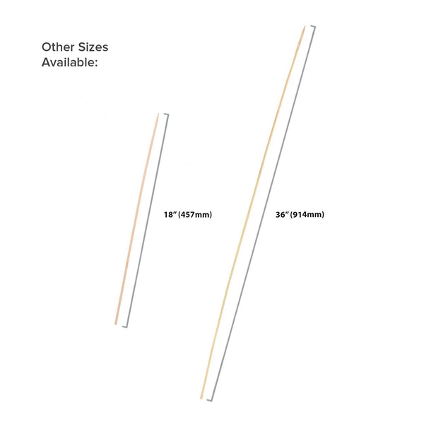 Long Bamboo Skewers - Size Options