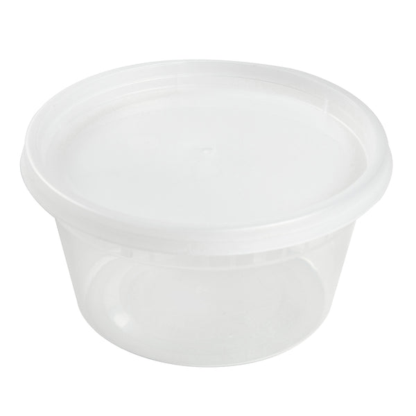 DC12240C - 12 oz. Clear Deli Containers and Lids Sample, for Customer Service Use Only