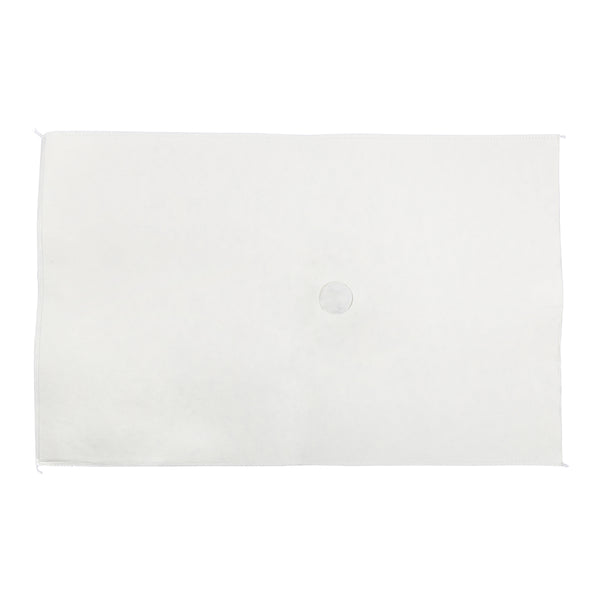 "14"" x 22.25"" Non-Woven Filter Envelopes with 1.5"" One Sided Hole"