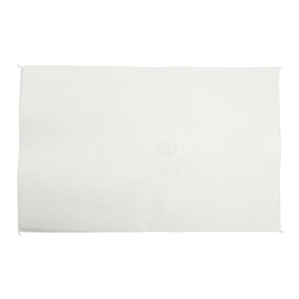"14.25"" x 22"" Non-Woven Filter Envelopes - 1.5"" One Sided Hole, Pack of 100 - CiboWares.com"