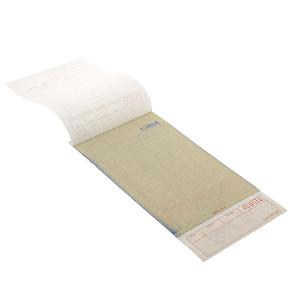 GC4997-3 - Tan Carbonless Guest Checks-3 Part Loose Sample, for Customer Service Use Only