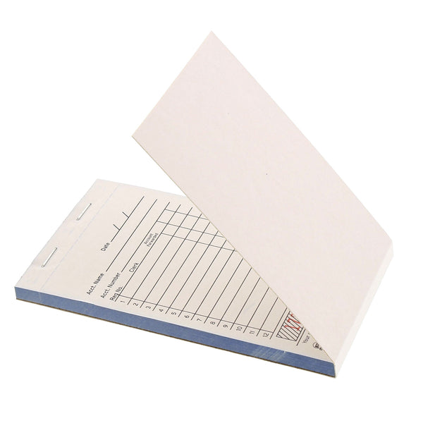 White Carbonless Sales Books-2 Part Booked