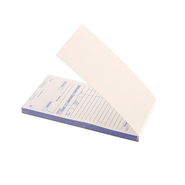 White Carbonless Delivery Forms-3 Part Booked