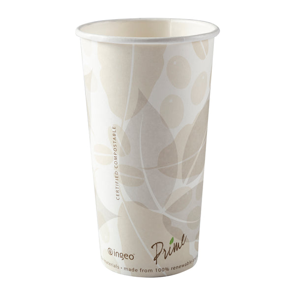 20 oz. Hot Coffee Cups Lined with PLA, Case of 1,000