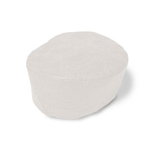 White Disposable Beanie Cap