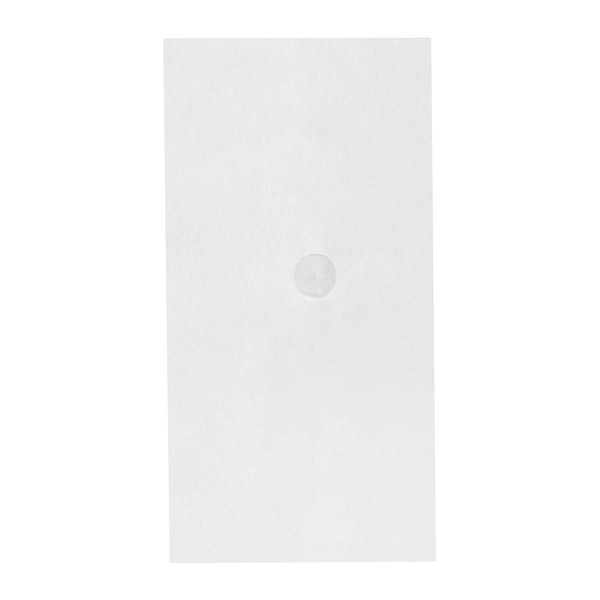 "13.75"" x 20.75"" Non-Woven Filter Envelope with 1-5/8"" Hole"