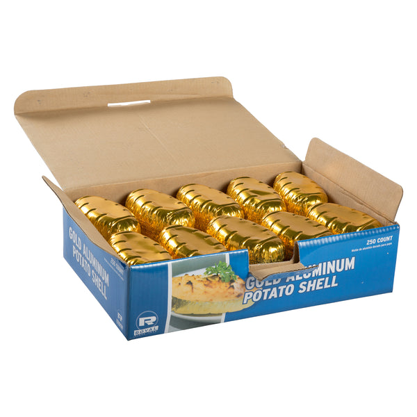 Gold Potato Shells, Package of 250