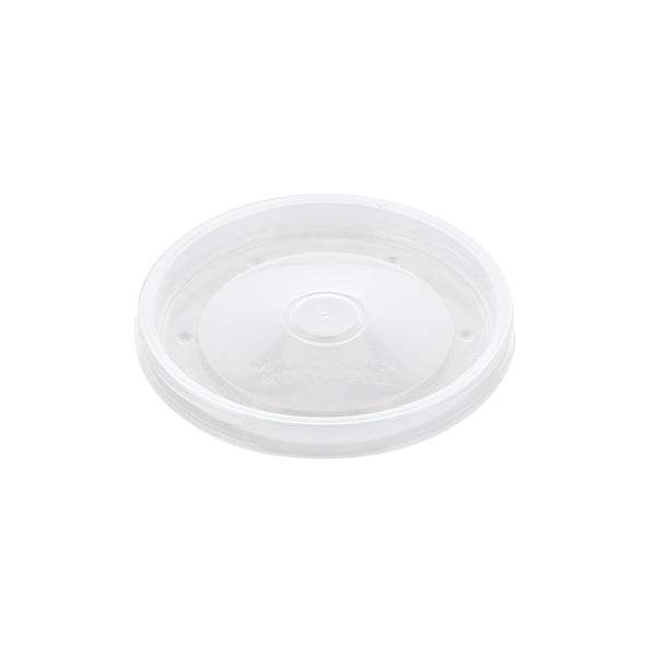 8 and 12 oz Clear Vented Plastic Lid