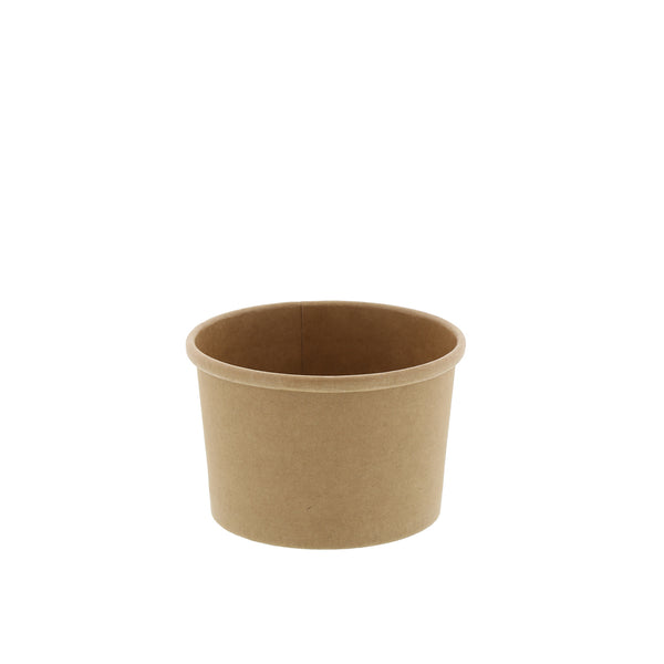 8 oz Kraft Paper Food Container