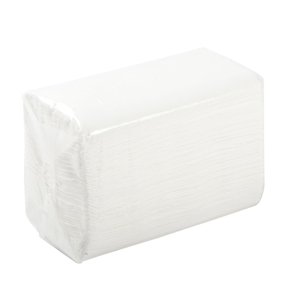 "15"" x 17"" White 2-Ply Dinner Napkins, Case of 3,000 - CiboWares.com"