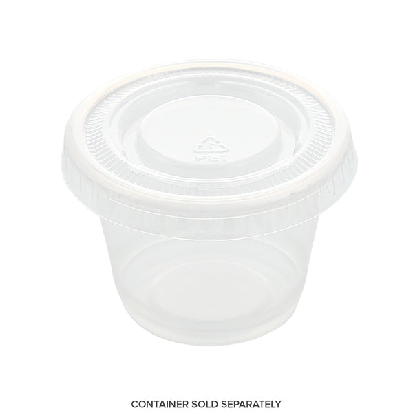 Portion Cup Options Available