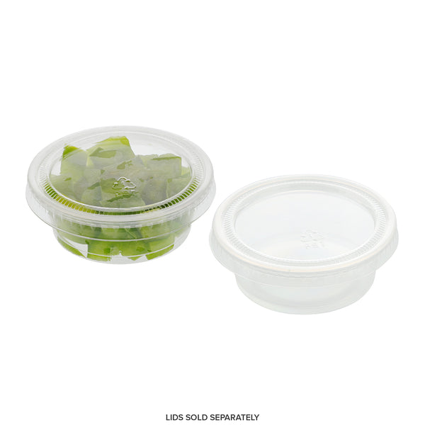 PCP150C - 1.5 oz. Poly Translucent Portion Cups Sample, for Customer Service Use Only