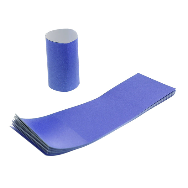 RNB20ME - Blue Paper Napkin Bands Sample, for Customer Service Use Only