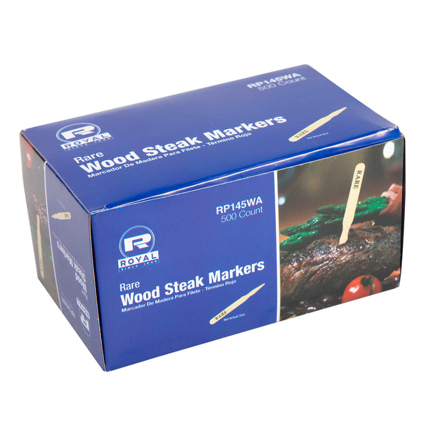 Rare Wood Steak Markers, Pack of 500