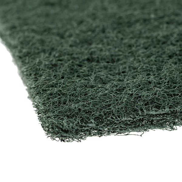 "Green 6"" x 9"" Heavy Duty Scouring Pad - Detail"