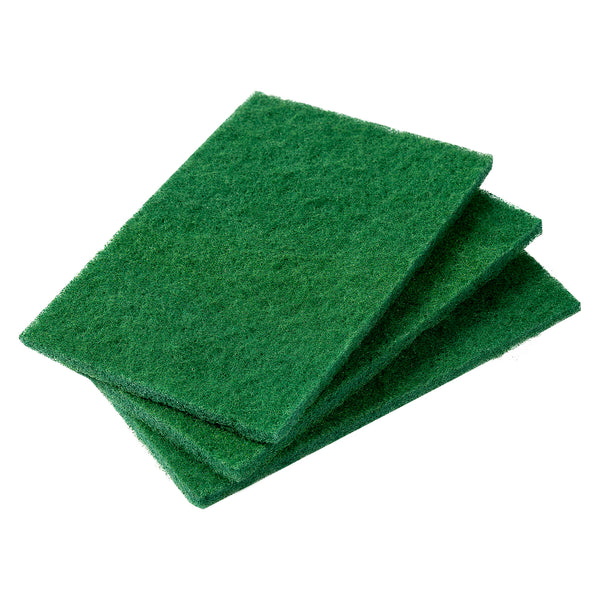 "Green 6"" x 9"" Heavy Duty Scouring Pads"