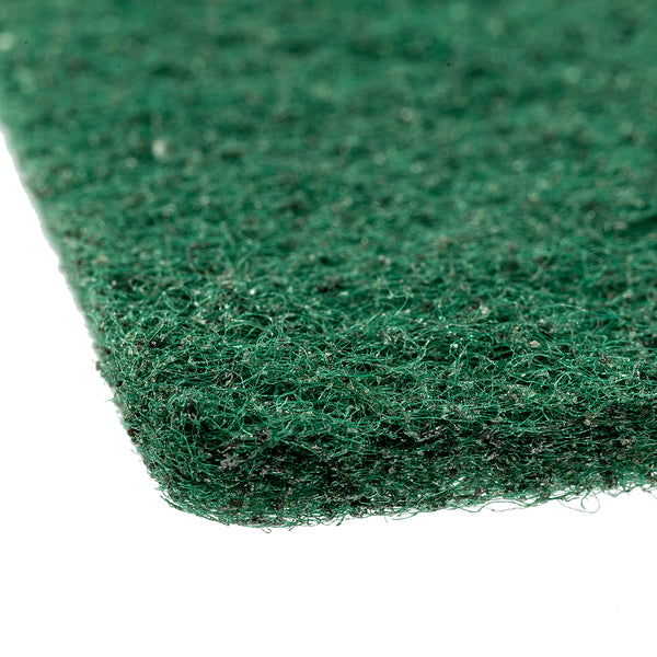 "Green 6"" x 9"" Medium Duty Scouring Pad - Detail"