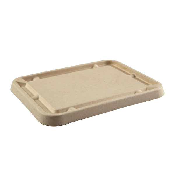 "Fiber Lid for 7 x 9"" Tan Tubs, Case of 200"