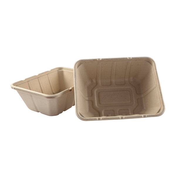 "7 x 9 x 3.125"" Deep Tan Tub"