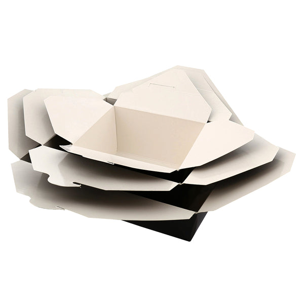 Black Folded Takeout Box Options