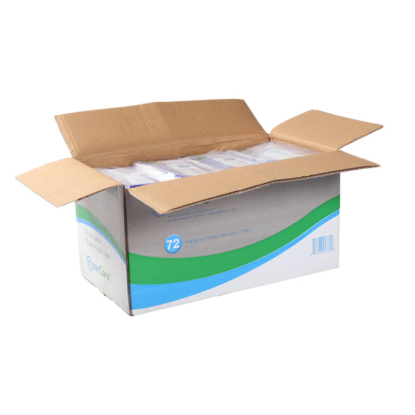 "9"" x 12"" Premoistened Washcloths, Case of 864"