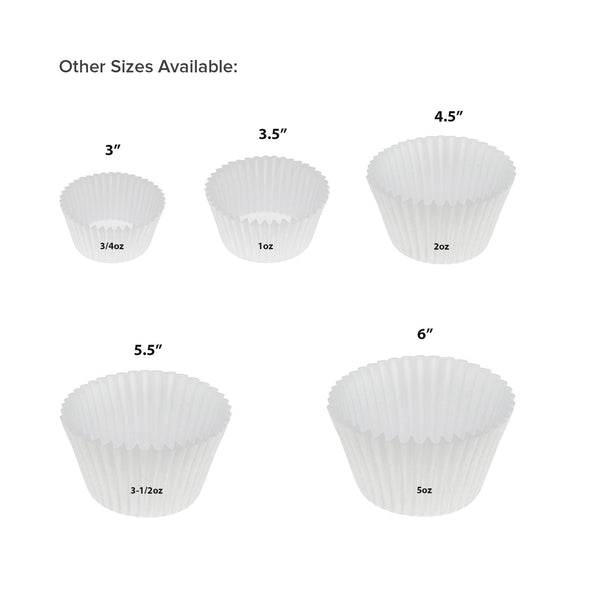 Baking Cup Size Options